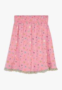 Lemon Beret - SMALL GIRLS SKIRT - A-line skirt - fushia pink - 1