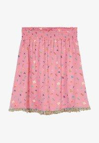 Lemon Beret - SMALL GIRLS SKIRT - A-line skirt - fushia pink - 3