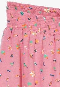 Lemon Beret - SMALL GIRLS SKIRT - A-line skirt - fushia pink - 2