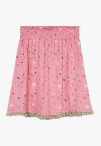 Lemon Beret - SMALL GIRLS SKIRT - A-line skirt - fushia pink - 0