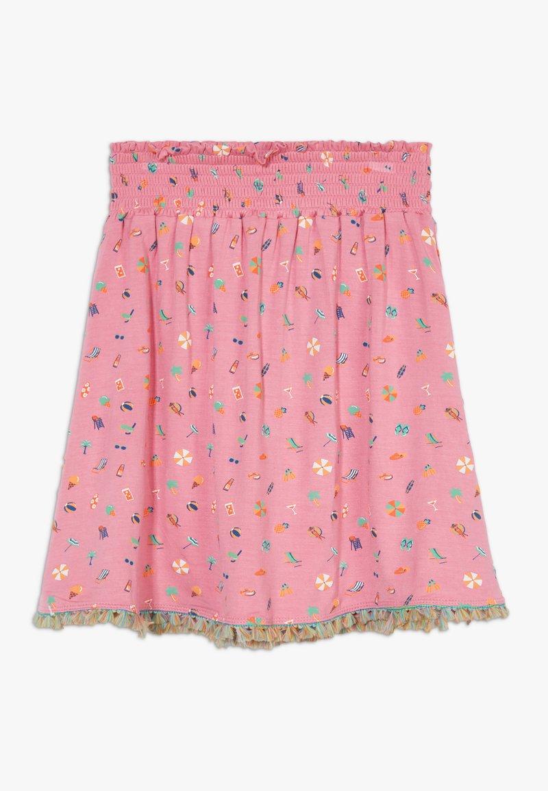 Lemon Beret - SMALL GIRLS SKIRT - A-line skirt - fushia pink