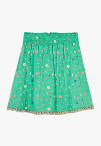 Lemon Beret - SMALL GIRLS SKIRT - Spódnica trapezowa - mint leaf - 1