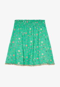 Lemon Beret - SMALL GIRLS SKIRT - Spódnica trapezowa - mint leaf - 2