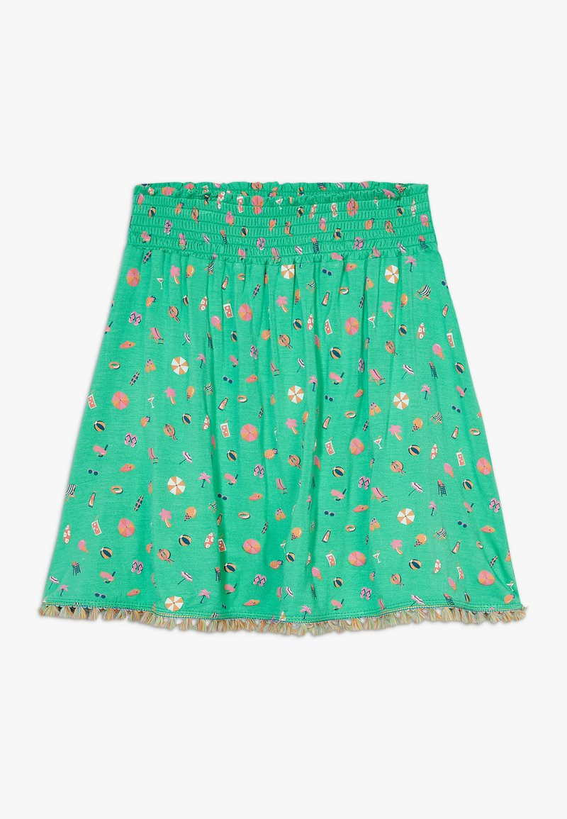 Lemon Beret - SMALL GIRLS SKIRT - Spódnica trapezowa - mint leaf