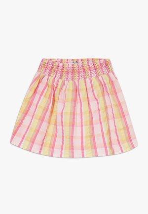 SMALL GIRLS SKIRT - Áčková sukně - pink/yellow