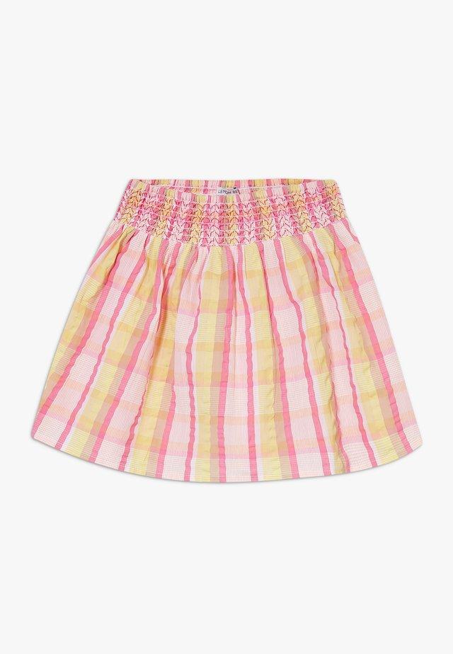 SMALL GIRLS SKIRT - Jupe trapèze - pink/yellow