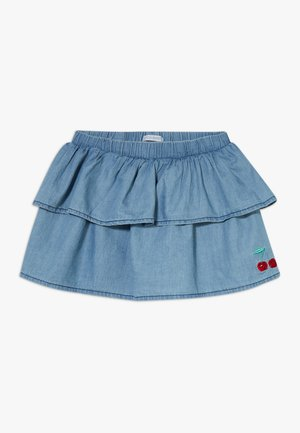 SMALL GIRLS SKIRT - Falda vaquera - light blue