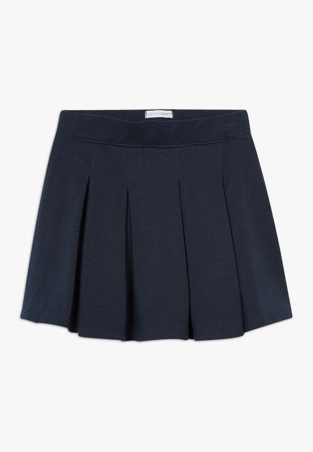 SMALL GIRLS SKIRT - Faltenrock - navy blazer
