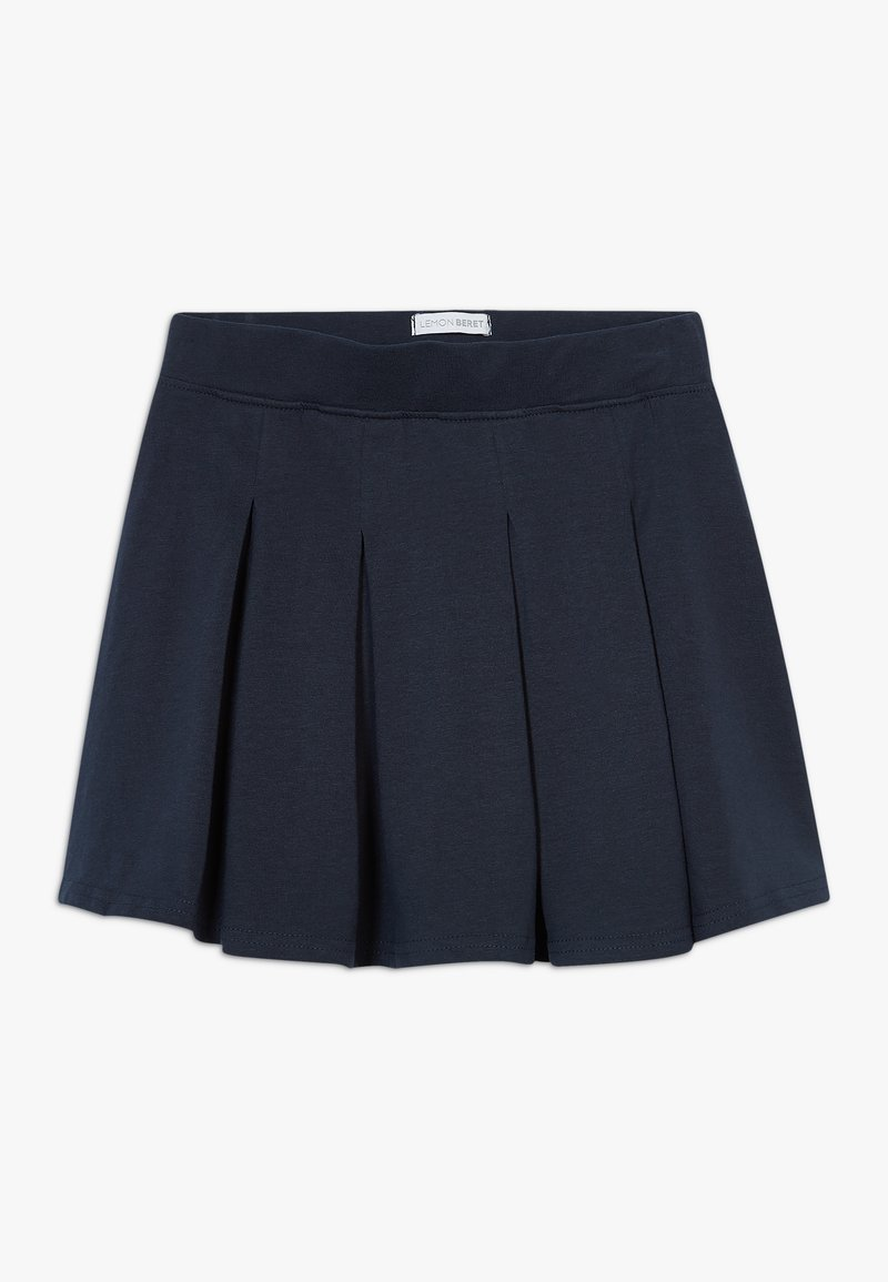 Lemon Beret - SMALL GIRLS SKIRT - Plisovaná sukně - navy blazer