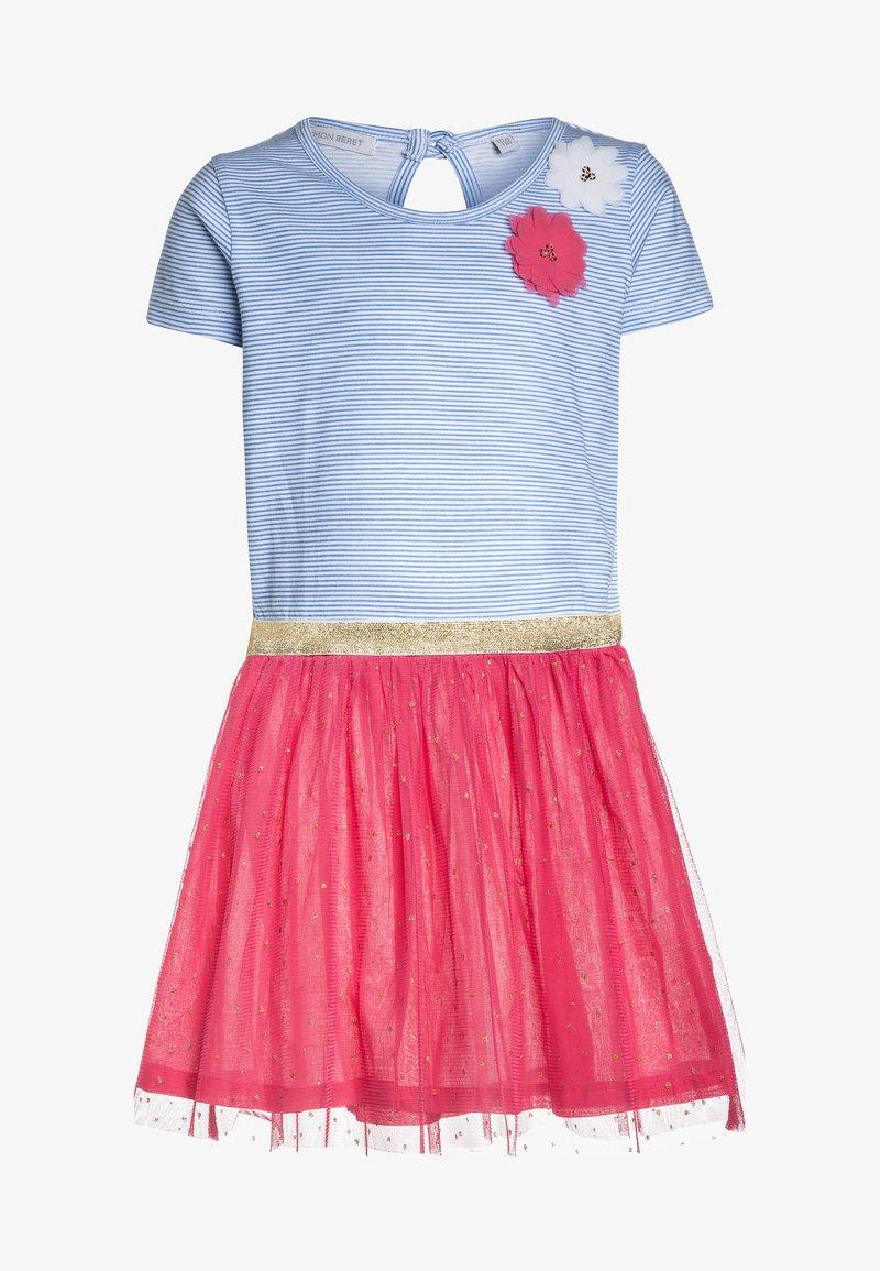 Lemon Beret - SMALL GIRLS DRESS - Žerzejové šaty - azalea