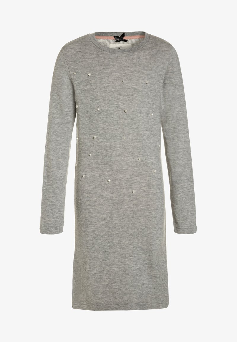 Lemon Beret - TEEN GIRLS DRESS - Sukienka letnia - light grey melange
