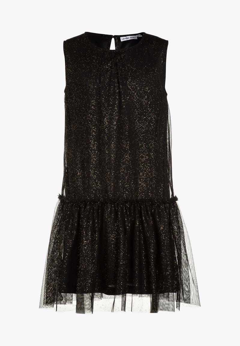 Lemon Beret - TEEN GIRLS DRESS - Cocktail dress / Party dress - black