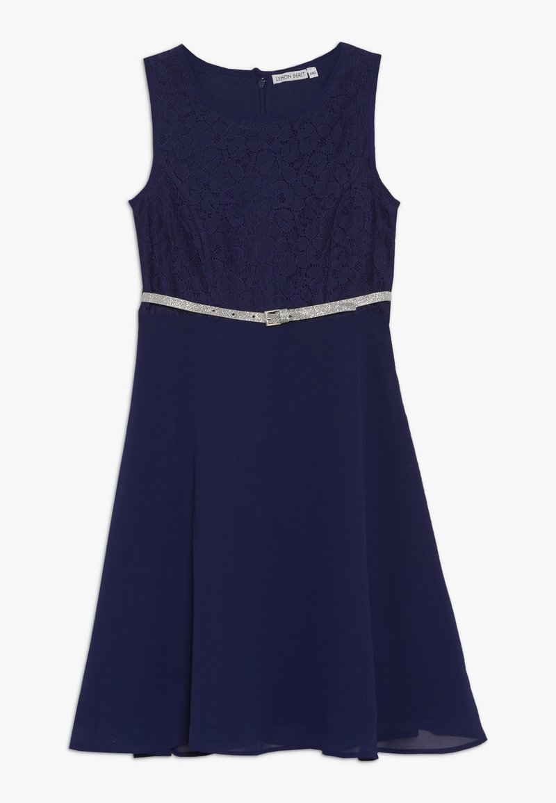 Lemon Beret - TEEN GIRLS DRESS - Cocktail dress / Party dress - blue depths