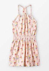 Lemon Beret - SMALL GIRLS DRESS - Trikoomekko - orange - 1