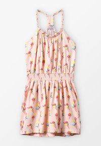 Lemon Beret - SMALL GIRLS DRESS - Trikoomekko - orange - 0