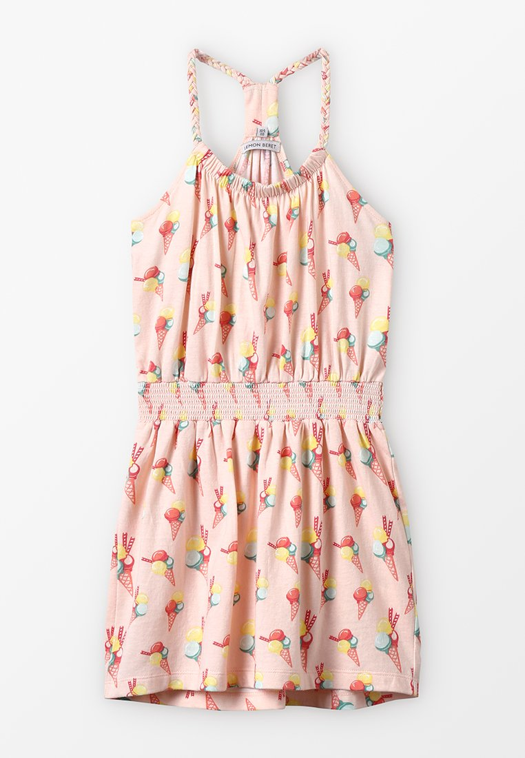 Lemon Beret - SMALL GIRLS DRESS - Trikoomekko - orange