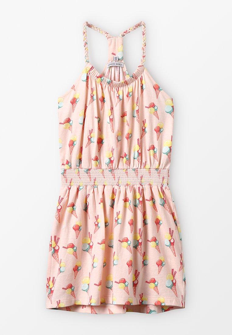 Lemon Beret - SMALL GIRLS DRESS - Jerseyjurk - orange
