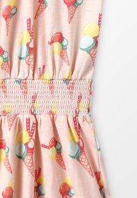 Lemon Beret - SMALL GIRLS DRESS - Trikoomekko - orange - 4