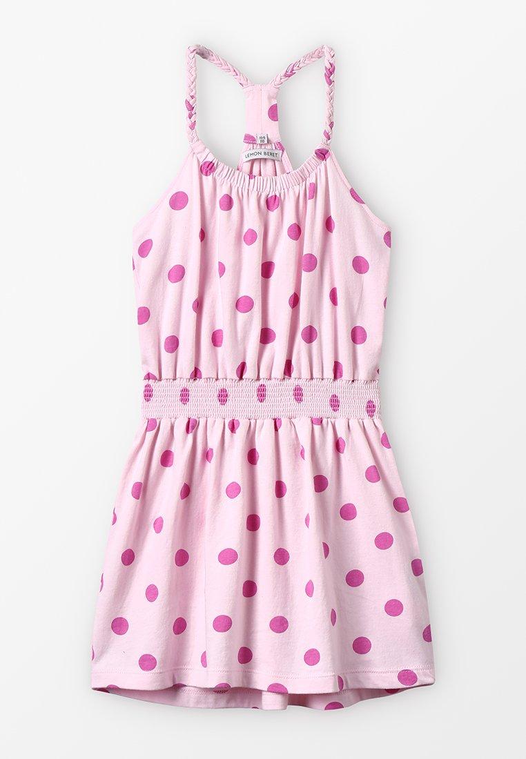 Lemon Beret - SMALL GIRLS DRESS - Žerzejové šaty - fairy tale