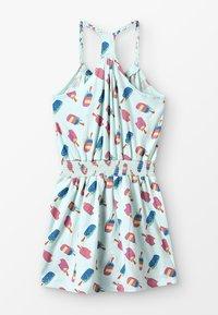 Lemon Beret - SMALL GIRLS DRESS - Žerzejové šaty - sooting sea - 1