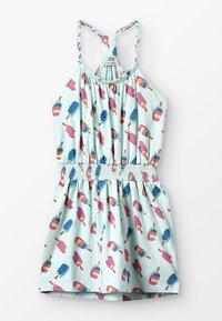 Lemon Beret - SMALL GIRLS DRESS - Žerzejové šaty - sooting sea - 0