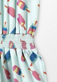 Lemon Beret - SMALL GIRLS DRESS - Žerzejové šaty - sooting sea - 4