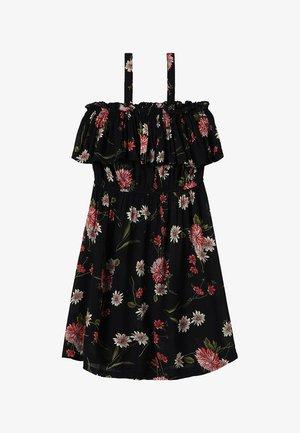 TEEN GIRLS DRESS - Korte jurk - black
