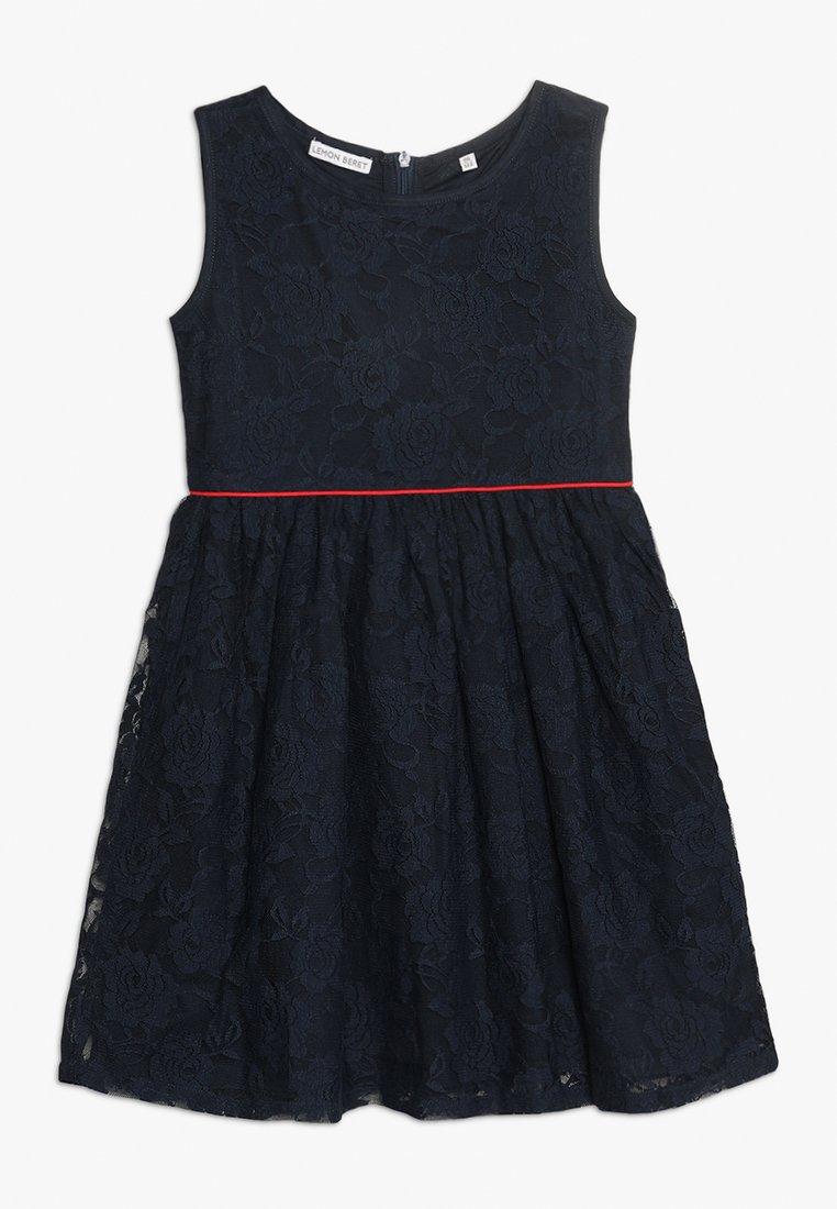 Lemon Beret - SMALL GIRLS DRESS - Cocktailkleid/festliches Kleid - medieval blue