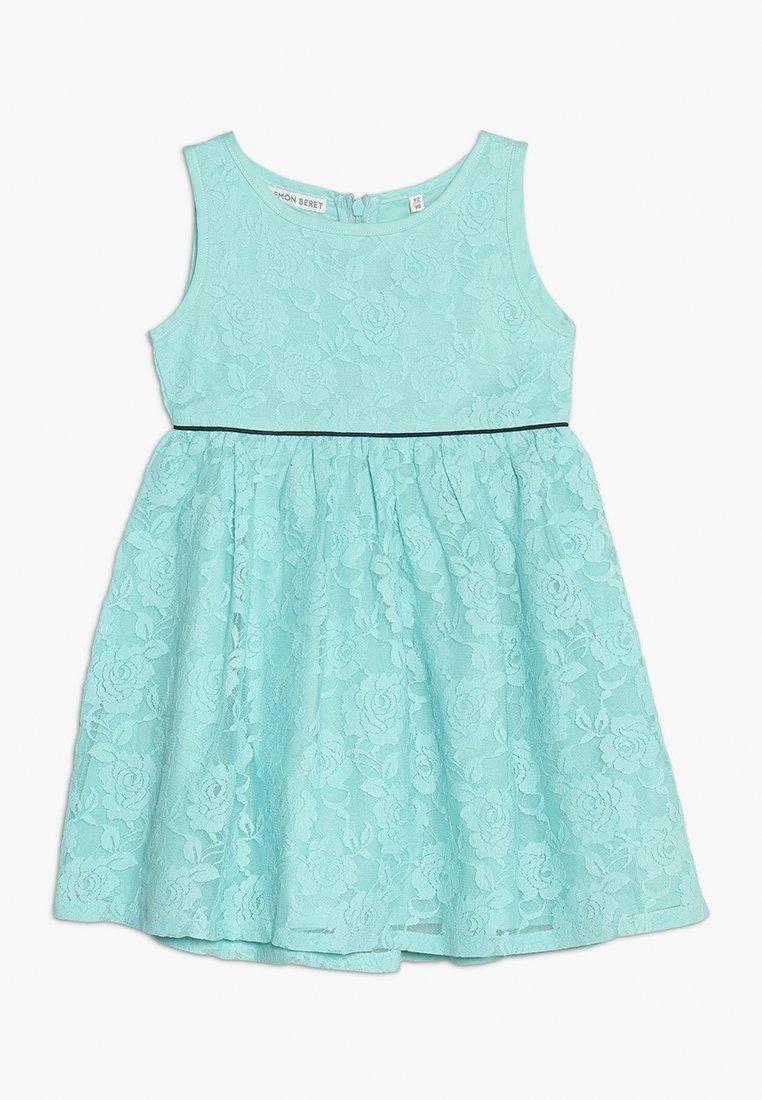 Lemon Beret - SMALL GIRLS DRESS - Vestido de cóctel - aqua haze