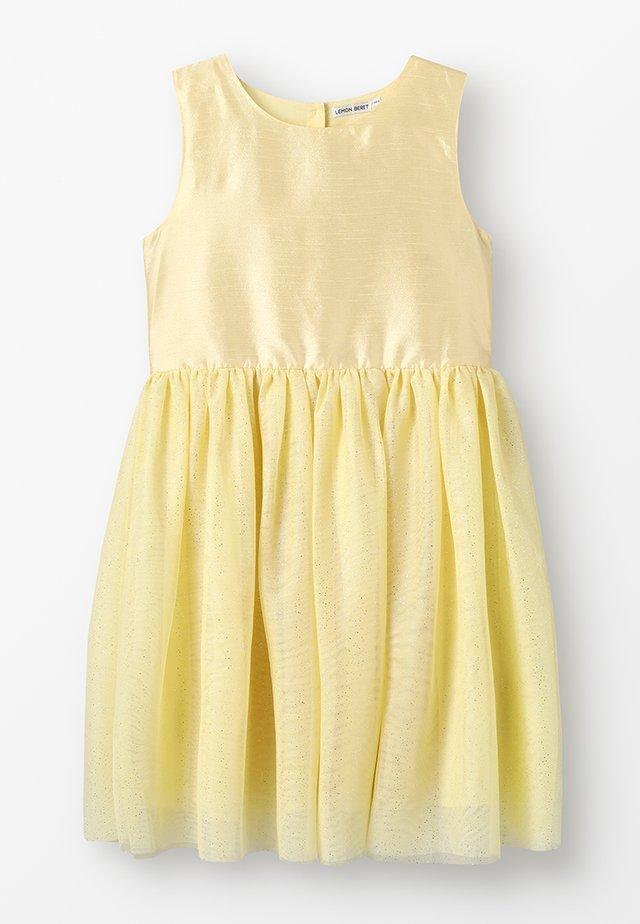 SMALL TEEN GIRL DRESS - Cocktailklänning - lemonade