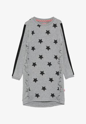 SMALL GIRLS DRESS - Korte jurk - grey melange