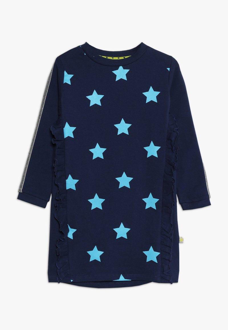 Lemon Beret - SMALL GIRLS DRESS - Day dress - medieval blue
