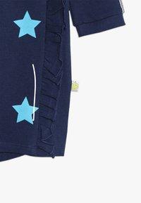 Lemon Beret - SMALL GIRLS DRESS - Day dress - medieval blue - 4