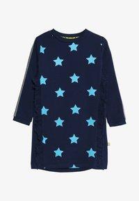 Lemon Beret - SMALL GIRLS DRESS - Day dress - medieval blue - 3