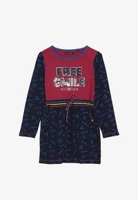 Lemon Beret - SMALL GIRLS DRESS - Jersey dress - rasberry sorbet - 3