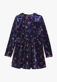 Lemon Beret - SMALL GIRLS DRESS - Day dress - deep ultramarine - 1