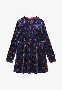 Lemon Beret - SMALL GIRLS DRESS - Day dress - deep ultramarine - 3