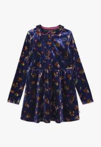 Lemon Beret - SMALL GIRLS DRESS - Day dress - deep ultramarine - 0