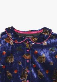 Lemon Beret - SMALL GIRLS DRESS - Day dress - deep ultramarine - 2