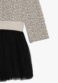 Lemon Beret - SMALL GIRLS DRESS - Korte jurk - beige melange - 4