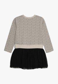 Lemon Beret - SMALL GIRLS DRESS - Korte jurk - beige melange - 1