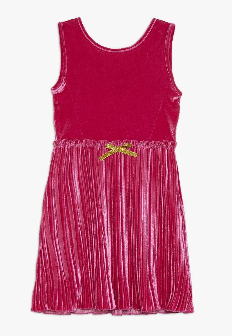 Lemon Beret - SMALL GIRLS DRESS - Day dress - raspberry sorbet
