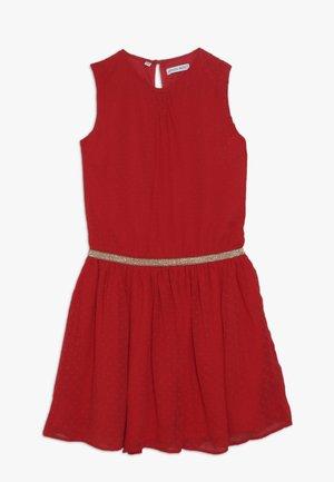 SMALL GIRLS DRESS - Vestido de cóctel - ribbon red