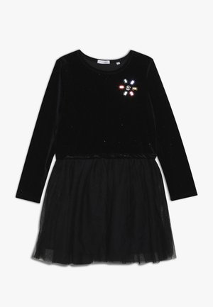 SMALL GIRLS DRESS - Cocktailjurk - black