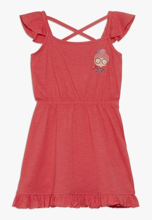 SMALL GIRLS DRESS - Robe en jersey - poinsetta