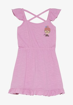 SMALL GIRLS DRESS - Robe en jersey - fushia pink