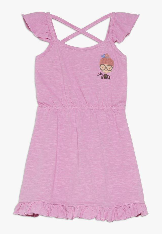 SMALL GIRLS DRESS - Jerseykleid - fushia pink