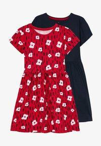 Lemon Beret - SMALL GIRLS DRESS 2 PACK - Jersey dress - navy blazer - 3
