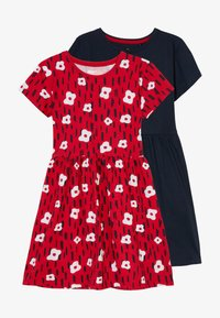 Lemon Beret - SMALL GIRLS DRESS 2 PACK - Jerseyklänning - navy blazer - 3