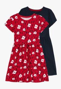 Lemon Beret - SMALL GIRLS DRESS 2 PACK - Jersey dress - navy blazer - 0